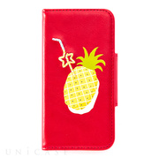 【iPhone8/7/6s/6 ケース】Fruits in Juice iPhone case (Pineapple)