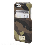 【iPhone7 ケース】SOLO WALLET (CAMO LEATHER)