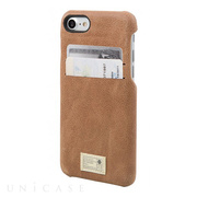 【iPhone7 ケース】SOLO WALLET (BROWN LEATHER)