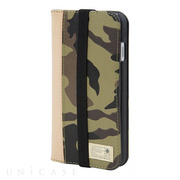 【iPhone7 ケース】ICON WALLET (CAMO LEATHER)