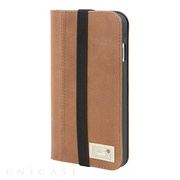 【iPhone7 ケース】ICON WALLET (BROWN LEATHER)