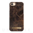 【iPhone7 ケース】Fashion Case (Brown Marble)