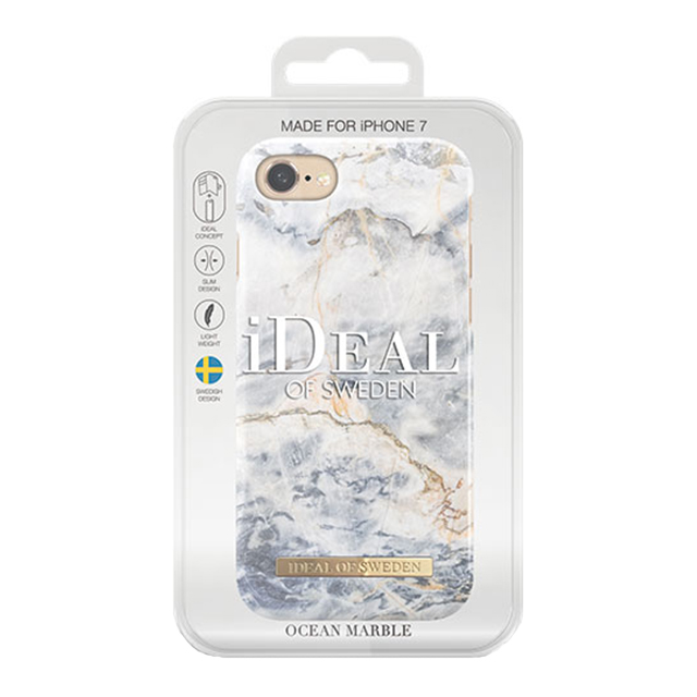 【iPhone7 ケース】Fashion Case (Ocean Marble)サブ画像