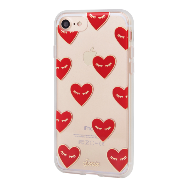 【iPhone7 ケース】CLEAR (FANCY HEART)サブ画像