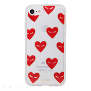 【iPhone8/7 ケース】CLEAR (FANCY HEART)