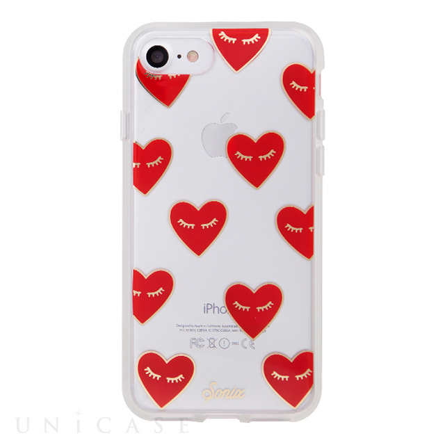 【iPhone7 ケース】CLEAR (FANCY HEART)