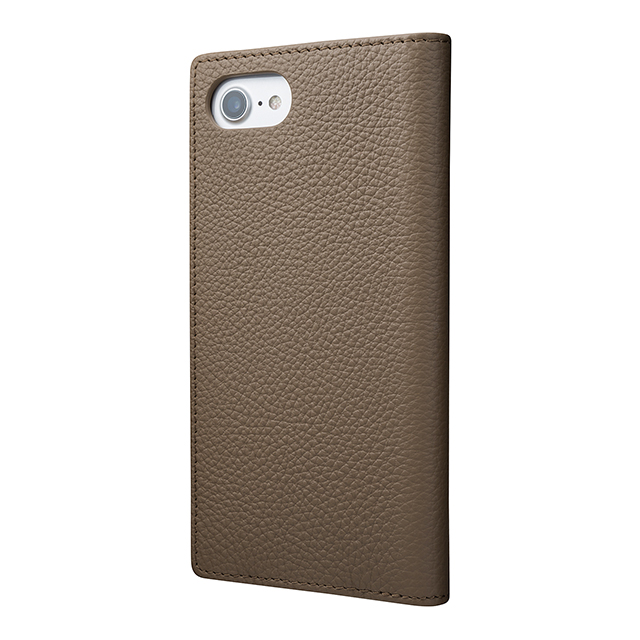 【iPhone8/7 ケース】Shrunken-calf Leather Case (Taupe)サブ画像