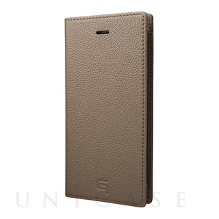 GRAMAS(グラマス) 【iPhone8/7 ケース】Shrunken-calf Leather Case (Taupe)