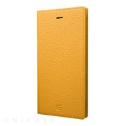 【iPhone8 Plus/7 Plus ケース】Shrunken-calf Leather Case (Yellow)