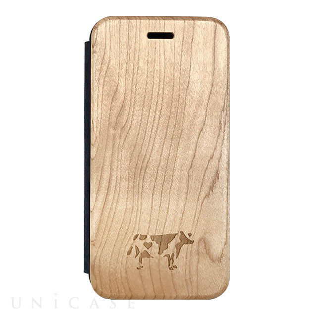 【iPhone8/7/6s/6 ケース】Maple Flip Case (COW)
