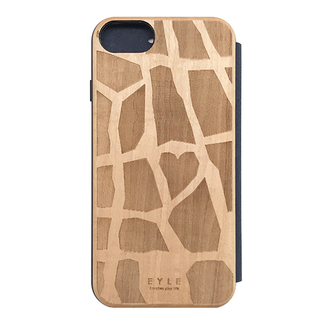 【iPhone8/7/6s/6 ケース】Maple Flip Case (GIRAFFE)サブ画像