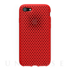 【iPhone7 ケース】Mesh Case (Red)
