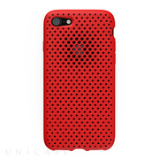 【iPhone8/7 ケース】Mesh Case (Red)