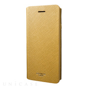 "【iPhone8/7 ケース】Leather Case ""Quadrifoglio"" (Gold)"