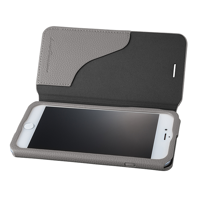 "【iPhone8 Plus/7 Plus ケース】PU Leather Case ""EURO Passione 2"" (Gray)"
