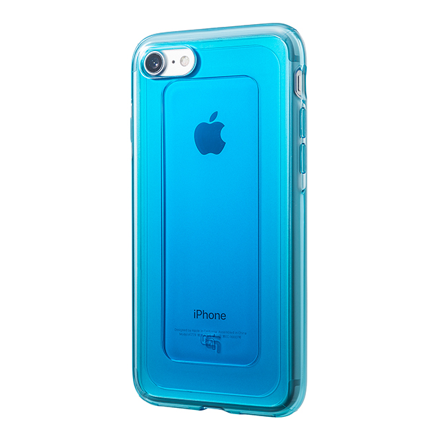"【iPhone8/7 ケース】""GEMS"" Hybrid Case (Turquoise Blue)"