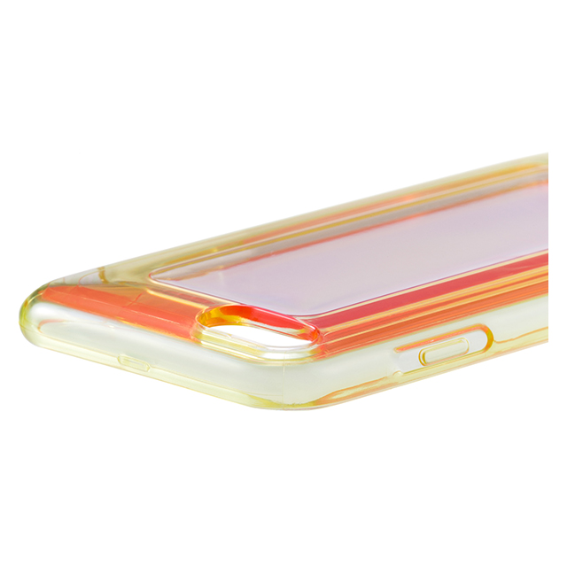 "【iPhone8/7 ケース】""GEMS"" Hybrid Case (Garnet Orange×Blue)サブ画像"