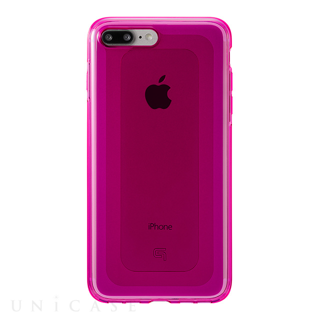 "【iPhone8 Plus/7 Plus ケース】""GEMS"" Hybrid Case (Ruby Pink)"