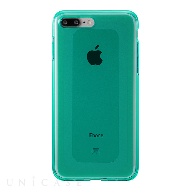 "【iPhone7 Plus ケース】""GEMS"" Hybrid Case (Emerald Green)"
