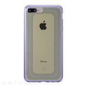 "【iPhone8 Plus/7 Plus ケース】""GEMS"" Hybrid Case (Citrine Yellow×Purple)"