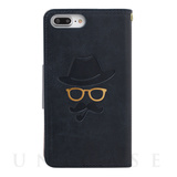 【iPhone8 Plus ケース】Gentleman Case (ネイビー)