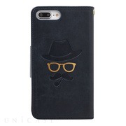 【iPhone8 Plus/7 Plus ケース】Gentleman Case (ネイビー)