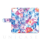 【iPhone7 Plus ケース】Oilshock Designs (Watercolor flower2)