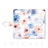 【iPhone8 Plus ケース】Oilshock Designs (Flowers)