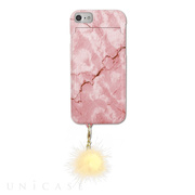 【iPhone8/7/6s/6 ケース】iCompact (Marble Pink)