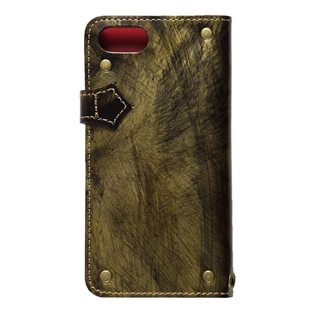 "【iPhone8/7 ケース】Premium Leather case ""ROCX"" (Gold)サブ画像"