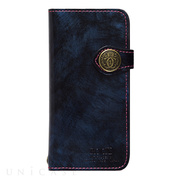"【iPhone8/7 ケース】Premium Leather case ""ROCX"" (Blue)"