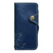 【iPhone8/7 ケース】SMART LEATHER (NAVY)