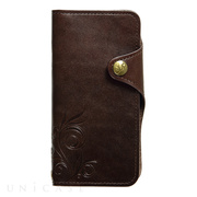 【iPhone8/7 ケース】SMART LEATHER (BROWN)
