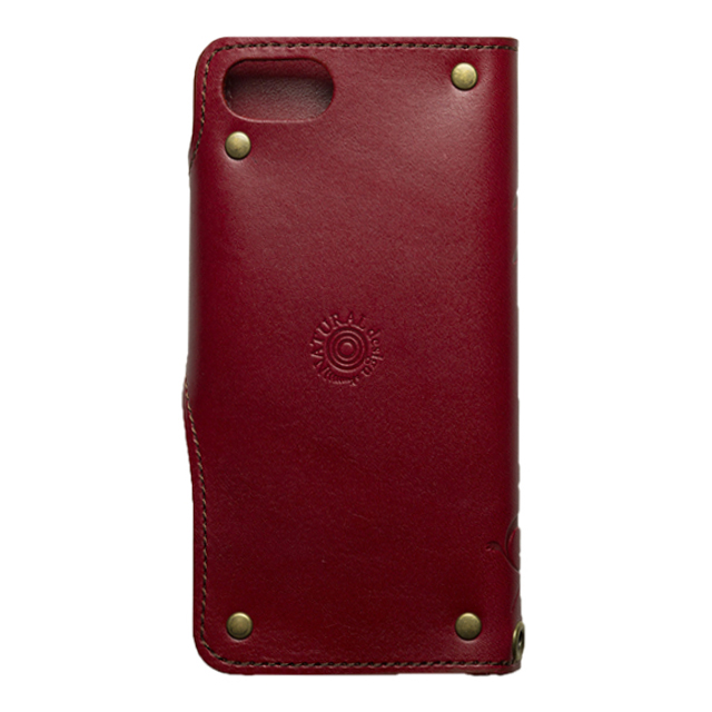 【iPhone8/7 ケース】SMART LEATHER (RED)サブ画像