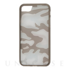 【iPhone7 Plus ケース】Clear Camouflage (ブラック)