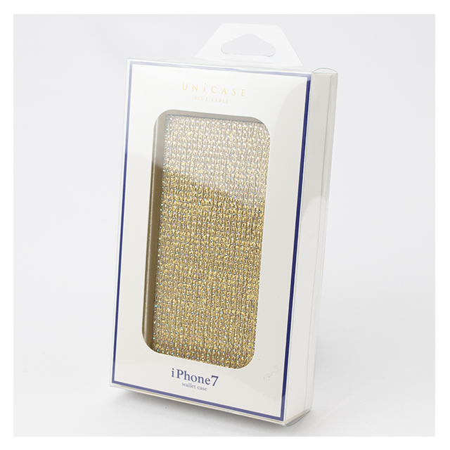 【iPhone8/7 ケース】Victoria Diary for iPhone7 Goldサブ画像