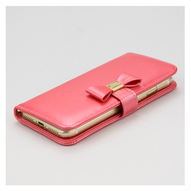 【iPhone8/7 ケース】Ribbon Diary for iPhone7 Pinkサブ画像