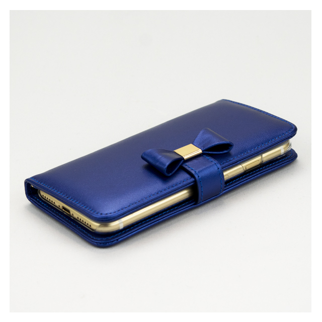 【iPhone7 ケース】Ribbon Diary Navyサブ画像