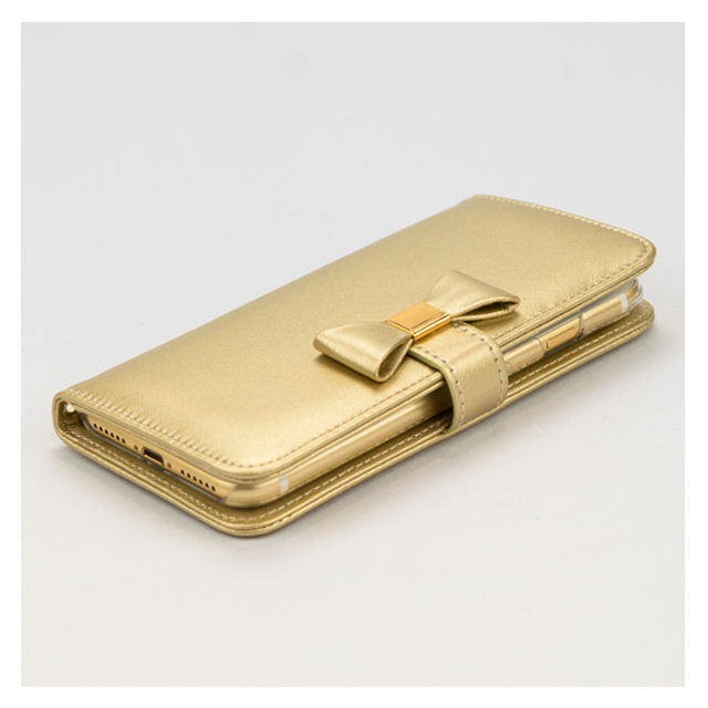 【iPhone7 ケース】Ribbon Diary for iPhone7 Goldサブ画像