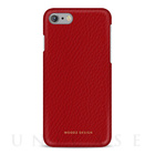 【iPhone7 ケース】Floater (Rossa Red)【レザー】