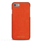 【iPhone8/7 ケース】Alcantara (Cadmium Orange)