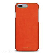 【iPhone8 Plus/7 Plus ケース】Alcantara (Cadmium Orange)
