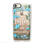 【iPhone8/7 ケース】Coffee & Concealer by CatCoq