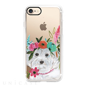 【iPhone8/7 ケース】Boho Maltipoo by Bari J. Designs