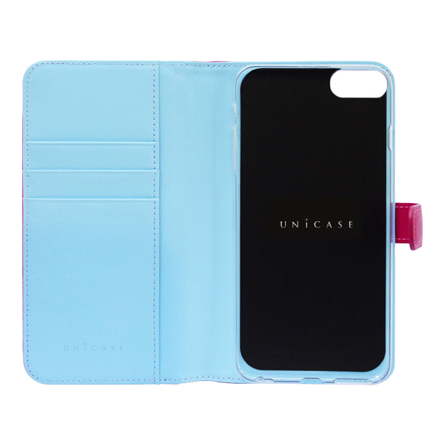 【iPhone8/7 ケース】COWSKIN Diary (Pink×Blue)サブ画像