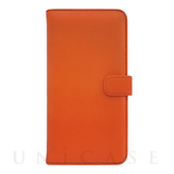 【iPhone7 ケース】COWSKIN Diary for iPhone7 (Orange×Navy)