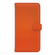 【iPhone8/7 ケース】COWSKIN Diary (Orange×Navy)