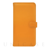 【iPhone7 ケース】COWSKIN Diary for iPhone7 (Buttercup×Orange)