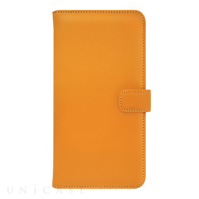 【iPhone8/7 ケース】COWSKIN Diary (Buttercup×Orange)