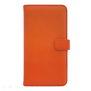 【iPhone8 Plus/7 Plus ケース】COWSKIN Diary (Orange×Navy)